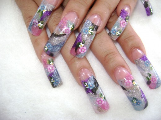Cute Nail Painting Ideas for Long Nails
