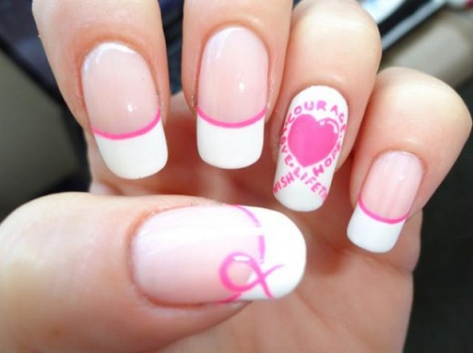 Fresh Simple Nails Art Designs for Girls
