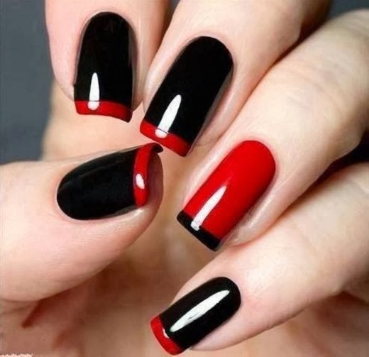 Women Nail Painting Designs for Party
