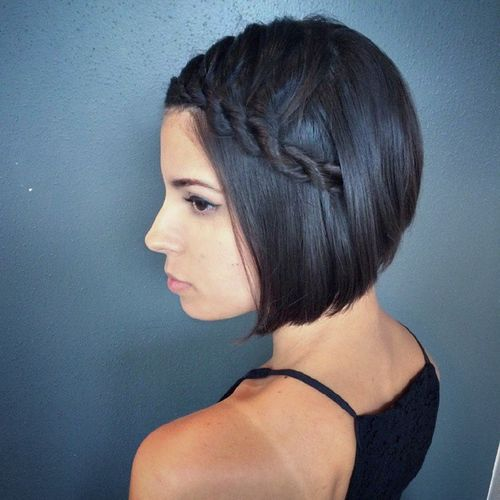 20 Beautiful Braided Hairstyles For Short Hair Sheclick Com