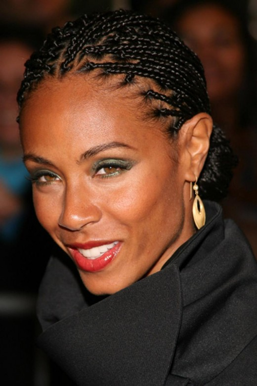 Super Black Braided Hairstyles for Short Hair