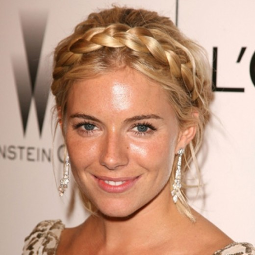 Trendy Braided Short Haircuts for Wedding 2016