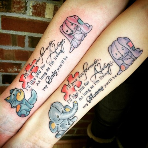 2016 Mother Daughter Tattoos Ideas