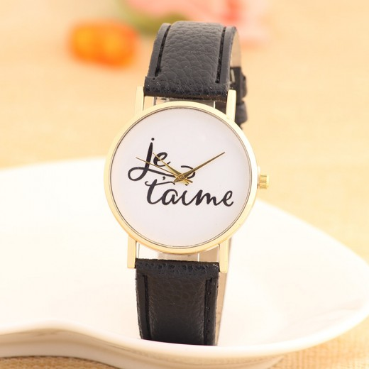 Black Bracelet Watches for Ladies