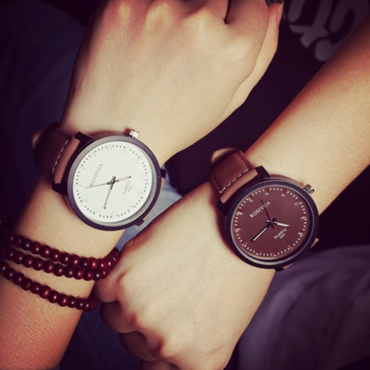 Latest Korean Simple Style Watches for Couple