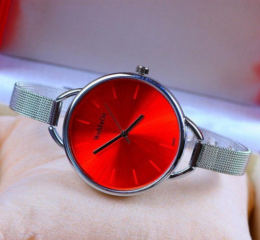 Simple Pin Buckle Wrist Quartz Watches for Women