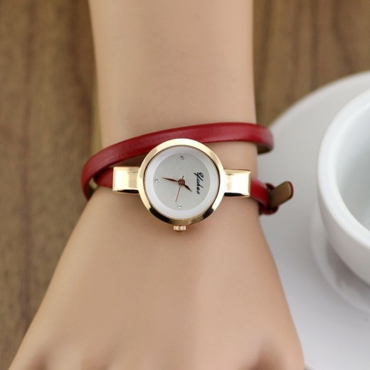 Simple and Sober Watch for Girls