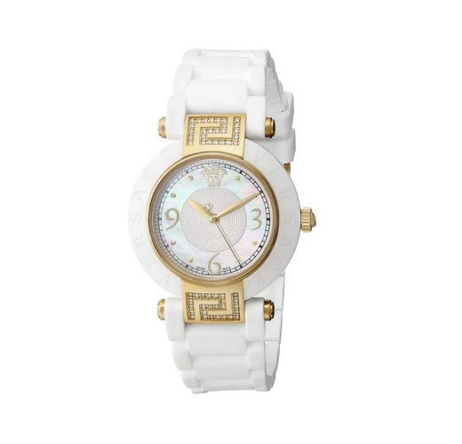 Versace Women's Reve 14k Yellow Gold Ion-Plated Watch